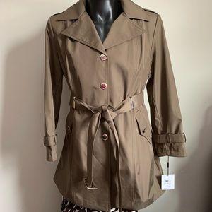 Calvin Klein brand new short trench coat